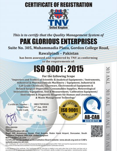 ISO 9001-2015 - 2018